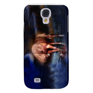 Blue Moon-Horse Art Case for iPhone 3 Samsung Galaxy S4 Cases