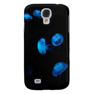 Blue Moon Jellies Samsung Galaxy S4 Cover