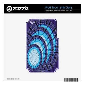 Blue Moon Light DOME for energy conservation iPod Touch 4G Skins