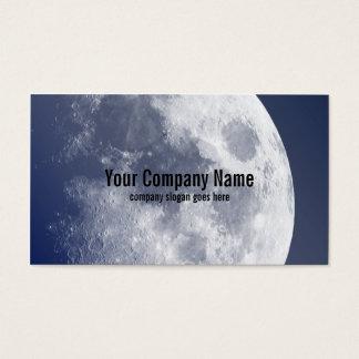 Blue Moon Lunar Business Cards
