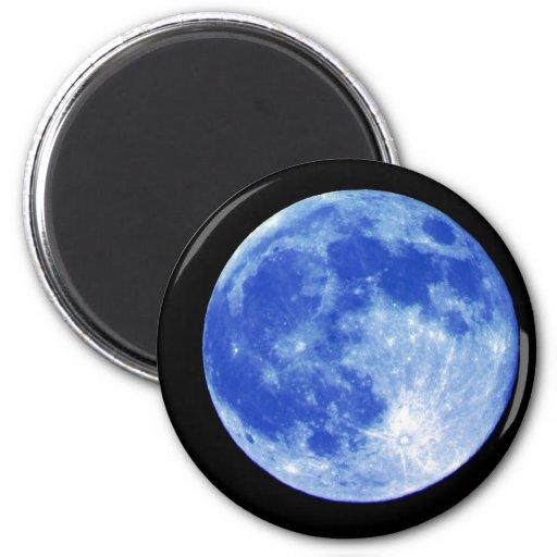 Blue Moon Magnet