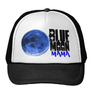 BLUE, MOON, MAMA TRUCKER HAT