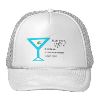 Blue Moon Martini Hat