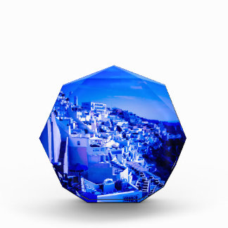 Blue Moon Over Fira Santorini Award
