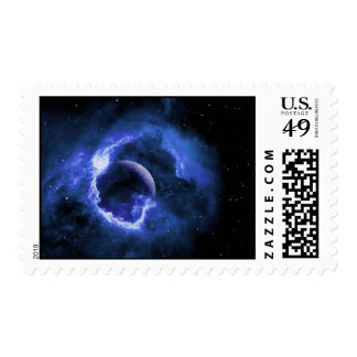 Blue Moon Postage Stamps
