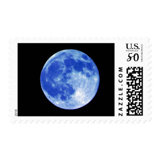 Blue Moon Postage Stamp