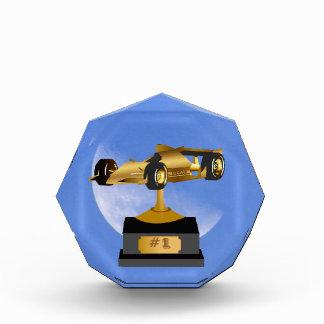 Blue Moon Race Car Trophy Award