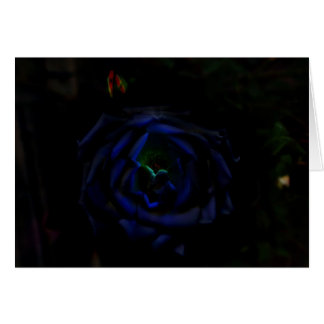 Blue Moon Rose Blank Note Card