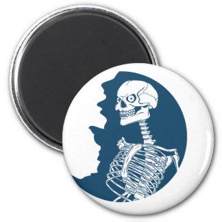blue moon shirt magnet