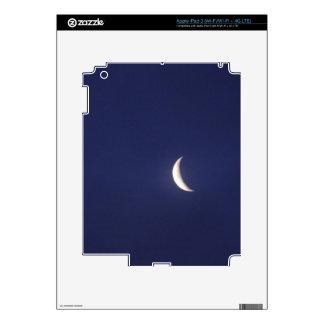 Blue Moon Sliver iPad 3 Decals