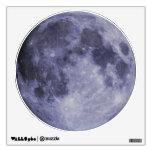 "Blue Moon Wall Decal 12""x12"""