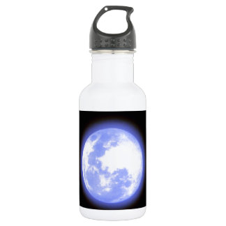 Blue moon water bottle