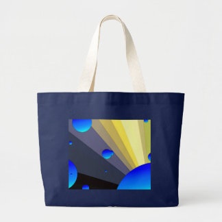 Blue Moons Canvas Tote Bag