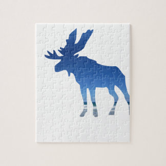 blue moose jigsaw puzzle