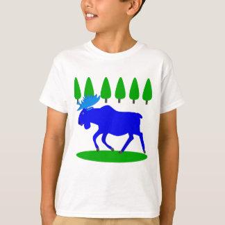 blue moose loose T-Shirt