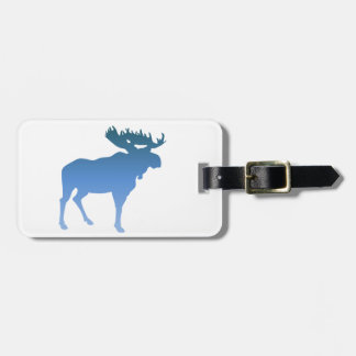 Blue Moose Travel Bag Tag