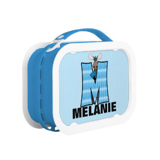 Blue Moose Monogrammed M Camouflage Lunch Box