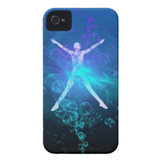 blue more water Case-Mate iPhone 4 case