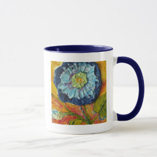Blue Morning Glory Mug