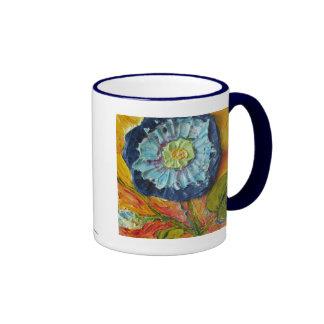 Blue Morning Glory Mug