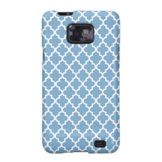 Blue Moroccan Pattern Galaxy S2 Case