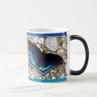 Blue Morphing Butterfly Morphing Mug