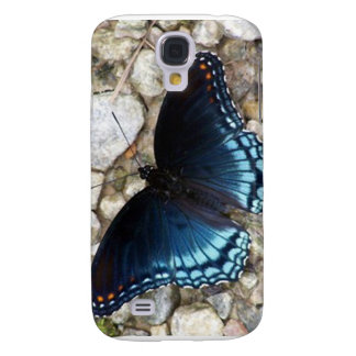 Blue Morphing Butterfly Samsung Galaxy S4 Cover