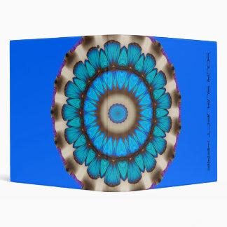 Blue Morpho Avery Binder