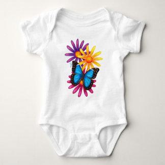 Blue Morpho Baby Bodysuit