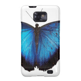 Blue Morpho Butterflie Samsung Galaxy S2 Cover