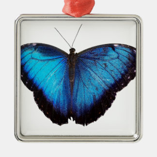 Blue Morpho Butterflie Christmas Tree Ornaments
