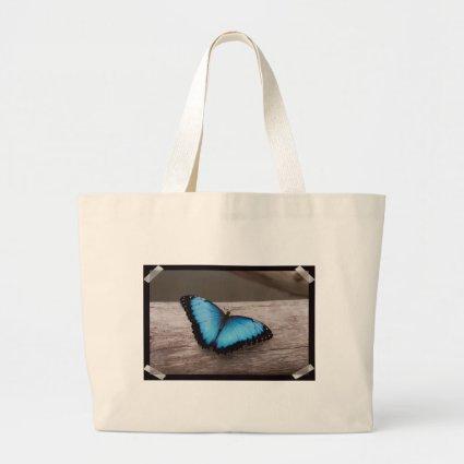 Blue Morpho Butterfly Bag