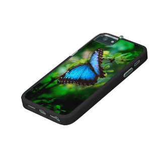 Blue Morpho Butterfly iPhone 5/5S Cover