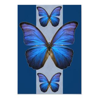 Blue Morpho Butterfly Invitations