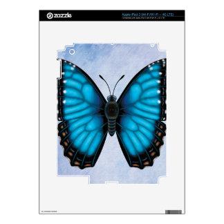 Blue Morpho Butterfly iPad 3 Skins
