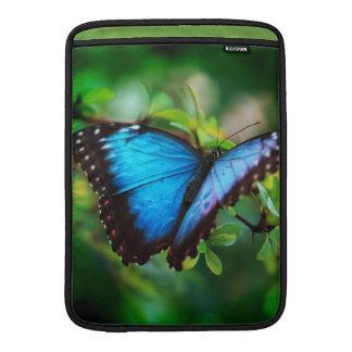 Blue Morpho Butterfly MacBook Sleeves