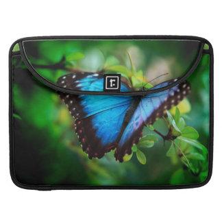 Blue Morpho Butterfly MacBook Pro Sleeves