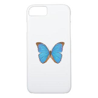 Blue Morpho Butterfly (Menelaus Blue Morpho, Morph iPhone 7 Case