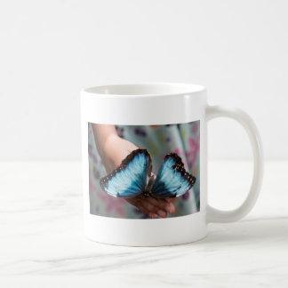 Blue Morpho Butterfly Mugs