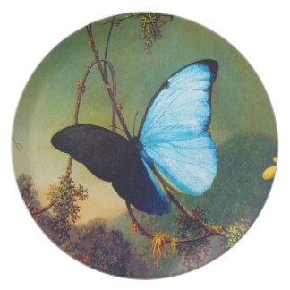 Blue Morpho Butterfly Plate