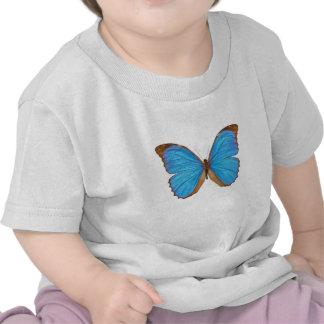 Blue Morpho Butterfly Tee Shirt