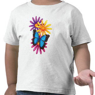 Blue Morpho Butterfly Shirts