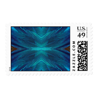 blue morpho butterfly wing stamps