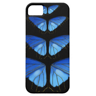 Blue Morpho Butterfly Wings iPhone 5 Cases