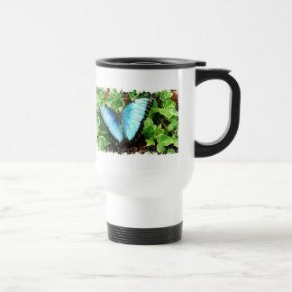 Blue Morpho Drinking Vessel Mug
