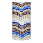Blue Mosaic 3'' x 6'' LED Candle