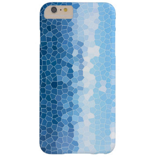 Blue Mosaic Barely There iPhone 6 Plus Case