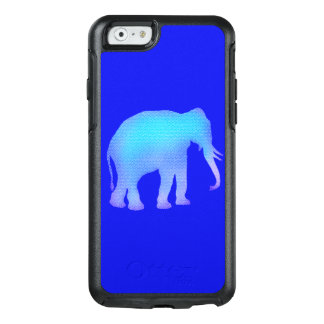Blue Mosaic Elephant OtterBox iPhone 6/6s Case