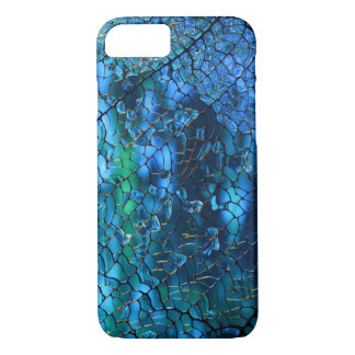 Blue Mosaic iPhone 7 Case
