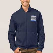 Blue Mosaic Men's Zip Jogger Jacket